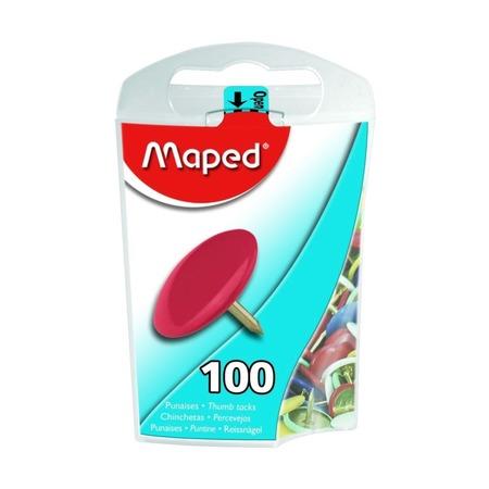 Кнопки цветные Maped 10 мм, 100 шт.