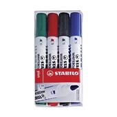 Набор маркеров для досок Stabilo, 4 шт.