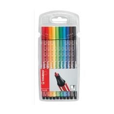 Набор фломастеров профессиональный Stabilo Pen 68, 10 шт.
