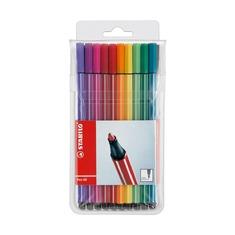 Набор фломастеров профессиональный Stabilo Pen 68, 20 шт.