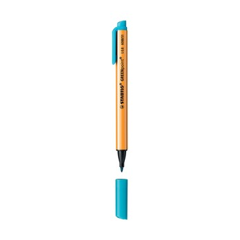 Ручка капилярная Stabilo Greenpoint 0.8 мм.