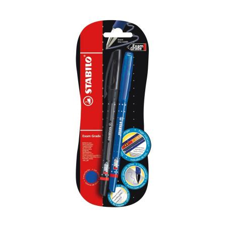 Ручка шариковая Stabilo Exam Grade 588, 2 шт.