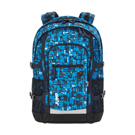 Рюкзак 4you Jump Геометрический синий