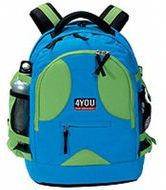 Рюкзак 4you Compact Зелёно-голубой
