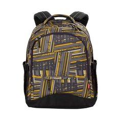 Рюкзак 4you Compact Жёлто-серые полосы