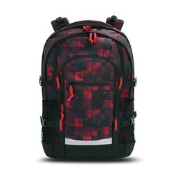 Рюкзак 4you Jump, квадраты красно-черные